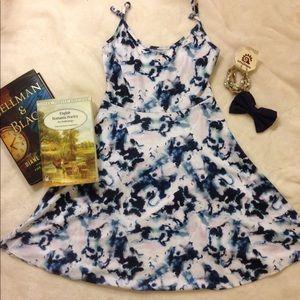 English Cloudy Beach Flowy Dress